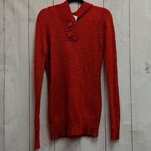 Rue21 Red Hooded Sweater Size Extra Large XL